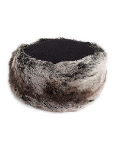 Parkhurst Wool Faux Fur Cossack Hat-BROWN-One Size