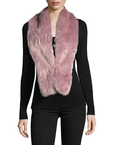 Parkhurst Faux-Fur Scarf-LILAC-One Size