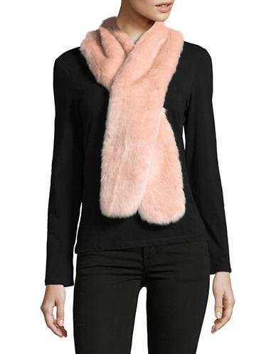 Parkhurst Faux-Fur Scarf-PINK-One Size