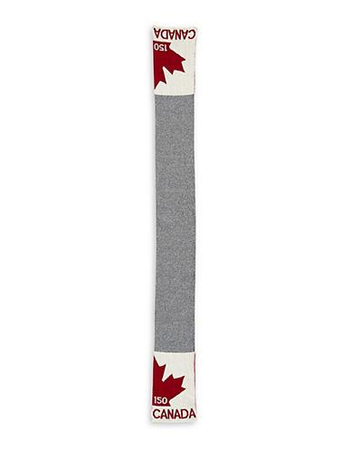 Parkhurst Canada Logo Scarf-GREY-One Size