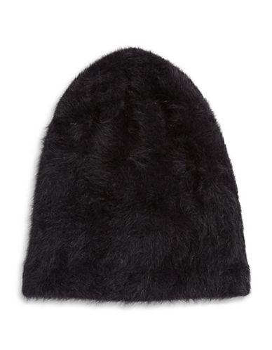 Parkhurst Ella Angora-Blend Slouchy Tuque-BLACK-One Size