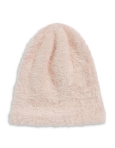 Parkhurst Ella Angora-Blend Slouchy Tuque-PINK-One Size