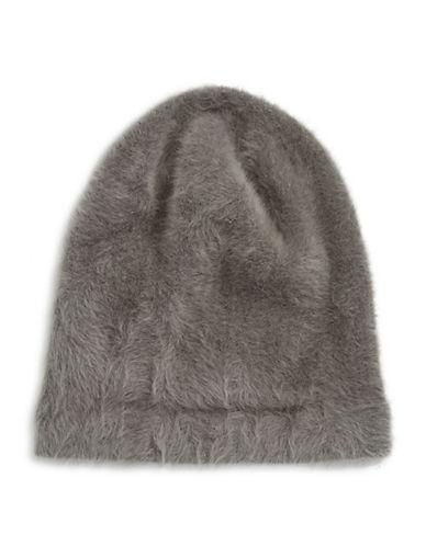 Parkhurst Ella Angora-Blend Slouchy Tuque-GRAPHITE-One Size