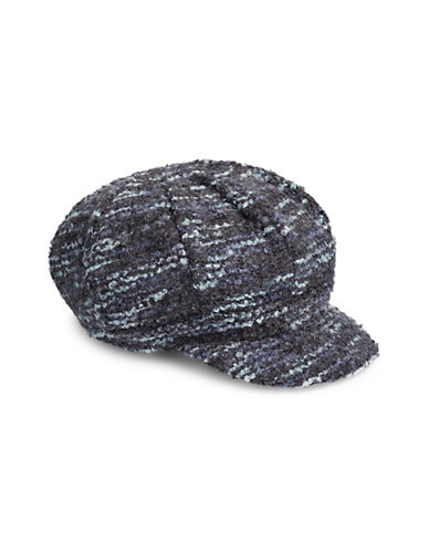 Parkhurst Textured Poor Newsboy Hat-BLUE-One Size