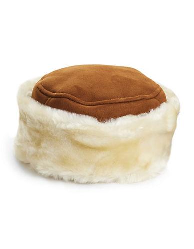 Parkhurst Plush Faux Shearling Hat-CAMEL-One Size