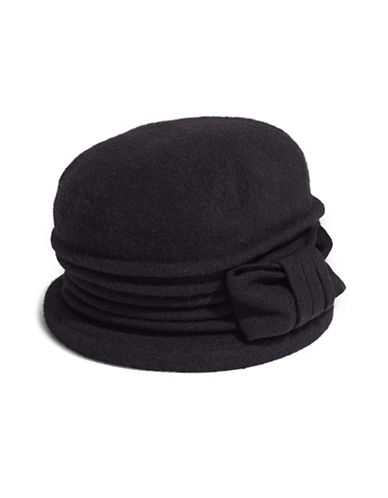 Parkhurst Baylyn Wool Cloche-BLACK-One Size