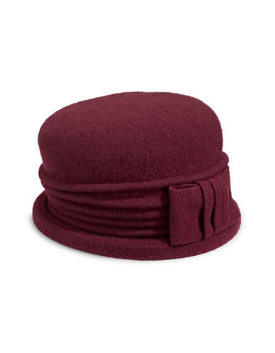 Parkhurst Baylyn Wool Cloche-RED-One Size