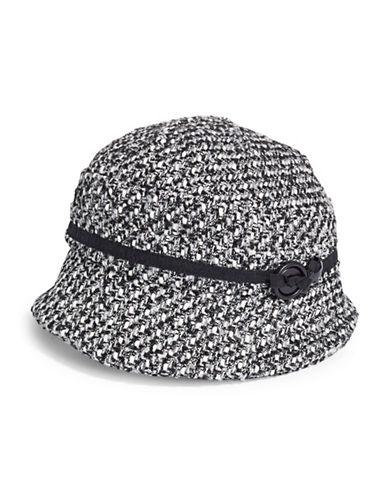 Parkhurst Asymmetrical Peak Hat-BLACK-One Size