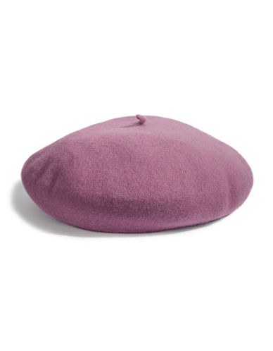 Parkhurst Felted Wool Beret-LILAC-One Size
