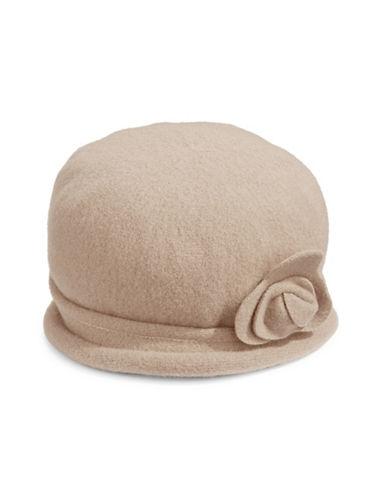 Parkhurst Spencer Wool Cloche Hat-SOFT BIRCH-One Size