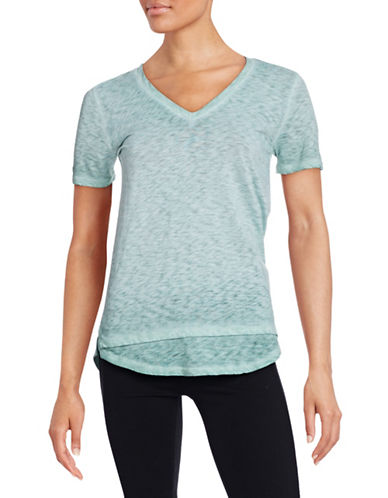 Stateside Ombre Burnout T-Shirt-MINT-Medium