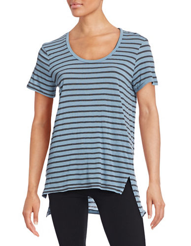 Stateside Stripe Relax-Fit T-Shirt-BLUE-Medium