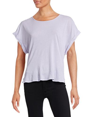 Stateside Envelope-Back T-Shirt-LAVANDER-X-Small