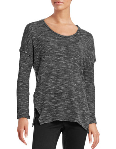 Stateside Dropped Shoulder Top-BLACK-Small