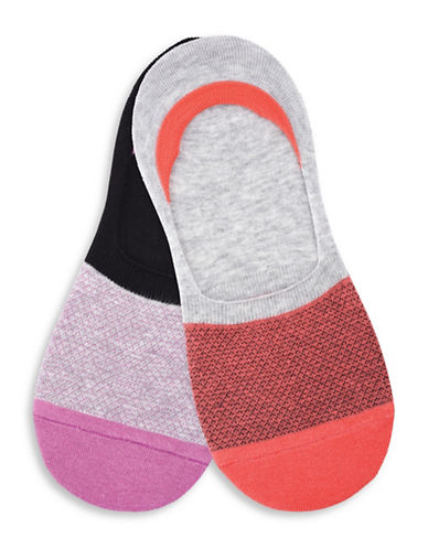 Keds Two-Pack Meshy Sock Liners Set-ASSORTED-One Size