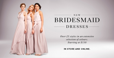 Bridesmaid Dresses | For the Bridal Party | KLEINFELD | Hudson's Bay