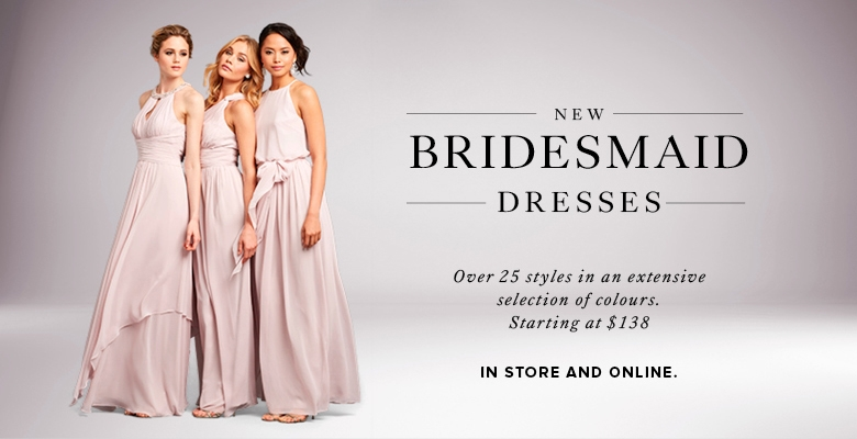 Bridesmaid Dresses | For the Bridal Party | KLEINFELD | Hudson\'s Bay