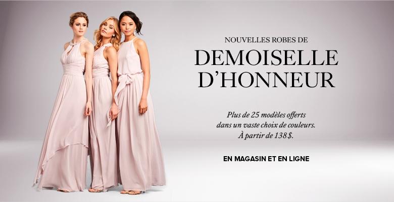 Robe dame d 39 honneur gatineau - Robe dame d honneur ...