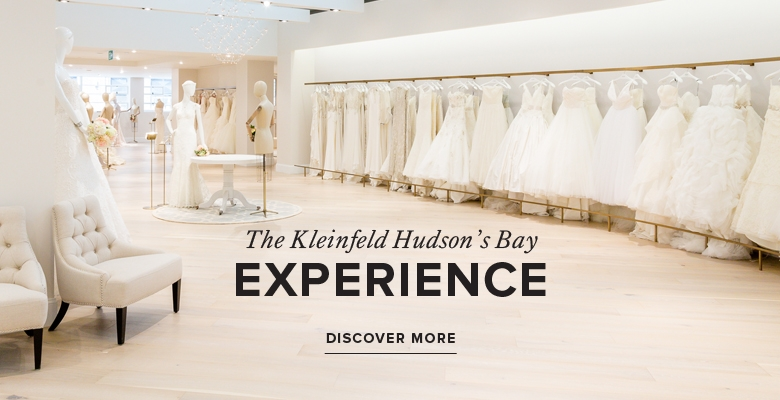 Kleinfeld Bridal Boutique Canada | Hudson\'s Bay