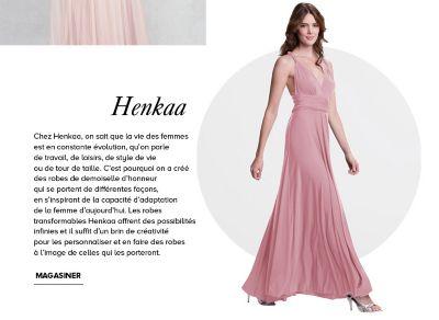 La baie robe rose