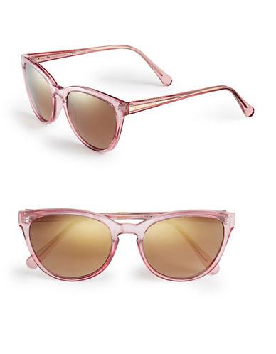 Vince Camuto VC672 Keyhole Cat-Eye Sunglasses-PINK-One Size