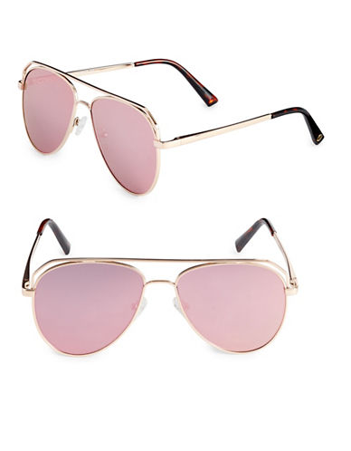 Vince Camuto Satellite 55mm Aviator Sunglasses-ROSE GOLD-One Size