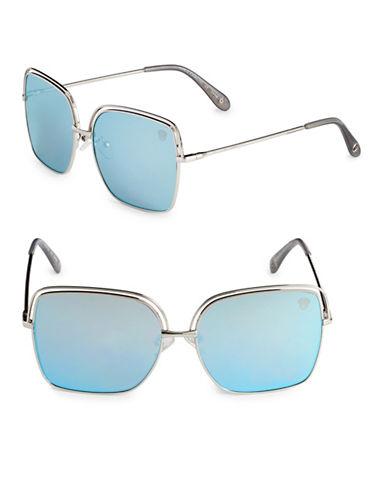 Vince Camuto Satellite 59mm Square Sunglasses-SILVER-One Size