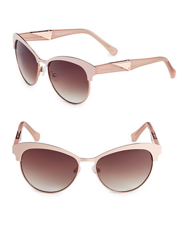 Vince Camuto Vintage Combo 59mm Cat-Eye Sunglasses-ROSE GOLD-One Size