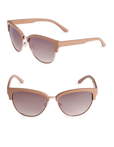 Circus By Sam Edelman 58mm Comp Cats Eye Sunglasses-NUDE-One Size