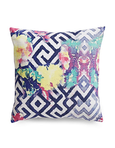 Tracy Porter Florabella Printed Decorative Pillow-TEAL-18x18