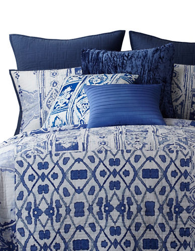 Tracy Porter Ambrette Prewashed Patchwork Quilt-BLUE-Queen