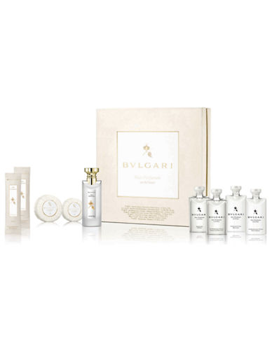 Bvlgari Nine-Piece Eau Parfumee Au The Blanc Set-NO COLOUR-One Size