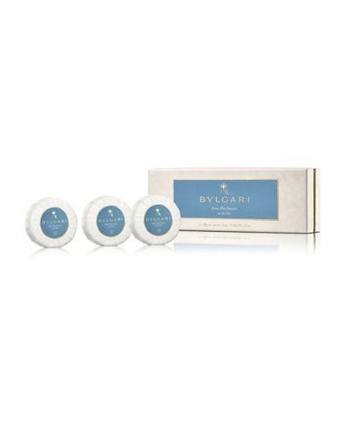 Bvlgari Set of Three Eau Parfumee The Bleu Soaps-NO COLOUR-150 ml