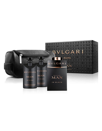Bvlgari Man in Black Three-Piece Set-0-100 ml