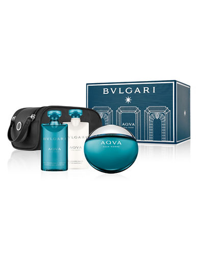 Bvlgari Aqva Man Four-Piece Eau De Toilette Set-0-100 ml