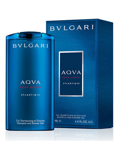 Bvlgari Aqva Atlantiqve Shampoo and Shower Gel-NO COLOUR-200 ml