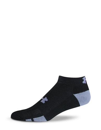 Under Armour Resistor Training Low Cut Sock-BLACK-7-12