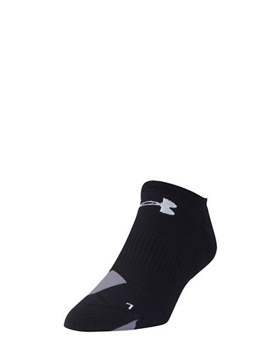 Under Armour Run Launch No-Show Socks-BLACK-Large 88295650_BLACK_Large