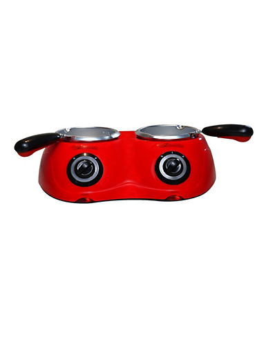 Total Chef Double Chocolatiere-RED-One Size