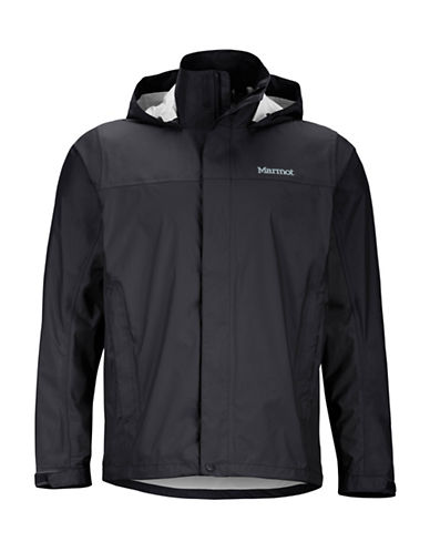 Marmot Precip Rain Jacket-BLACK-Medium