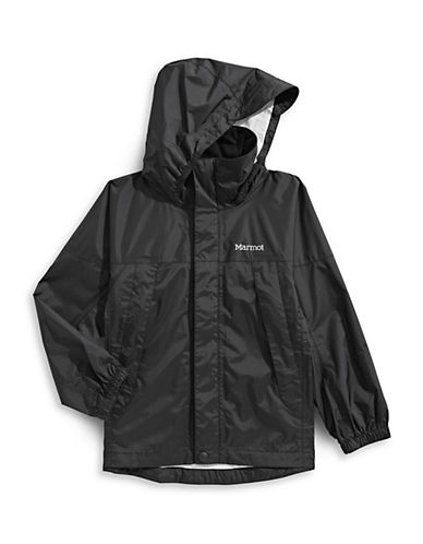 Marmot Precip Zip Jacket-BLACK-Medium 89912923_BLACK_Medium