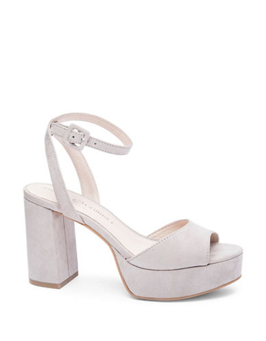 Chinese Laundry Theresa Platform Sandals-GREY-8.5