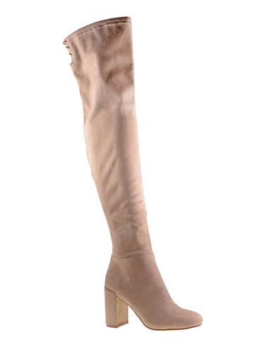 Chinese Laundry Krush Block Heel Over-The-Knee Boots-MINK-9