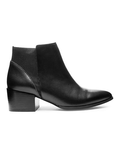 Chinese Laundry Finn Block Heel Leather Booties-BLACK-7