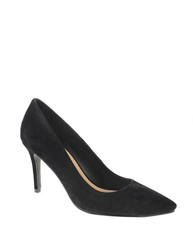 Chinese Laundry Ruthy Suede Pumps-BLACK-9.5