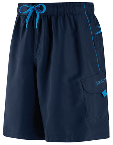 Speedo Speedo Mens Marina Water Short-NAVY-Large