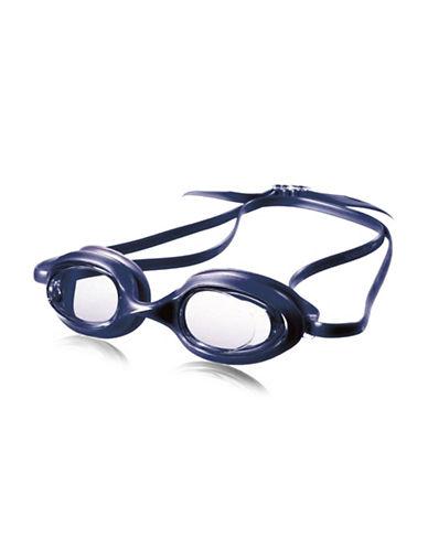 Speedo Sengar Kids Round Goggles-BLUE-One Size