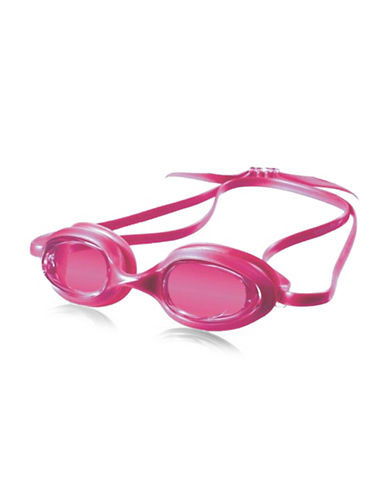 Speedo Jr.Vanquisher Kids Round Goggles-PURPLE-One Size