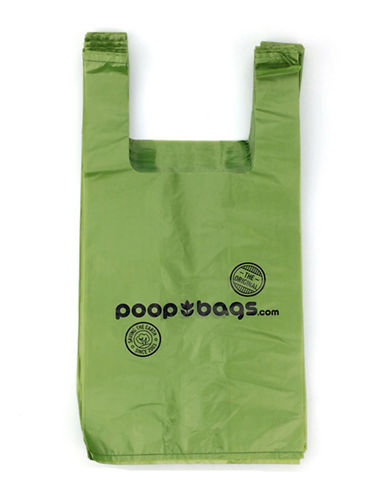 Original Poop Bags Recycled Poop Bags Bulk Roll 120 Pack-GREEN-One Size
