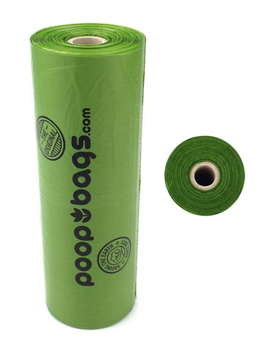 Original Poop Bags Recycled Poop Bags Bulk Roll 310 Pack-GREEN-One Size
